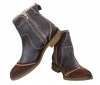 Chocolate / Brown Color High Ankle Leather Boots Online