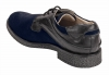 Blue Black Genuine Leather Brogues Shoes for Men Online