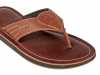 Men's Tan Leather Slipper