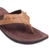 Tan Brown Leather Chappals