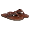 tan leather slippers