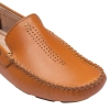 Tan Color Leather Driving Shoes for Men Online