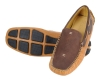 Chocolate Tan Genuine Leather Driving Shoes Online
