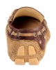 Chocolate Genuine Leather Driving Shoes Online
