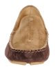 Chocolate Tan Mens Leather Driving Shoes
