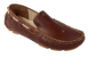 Tan Pure Leather Driving Shoes