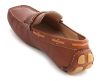 Dark Tan Leather Moccasins