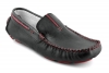 Black Burgundy Leather Driving Shoes Online