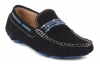 Blue Genuine Leather Driving Shoes Online for Men Online