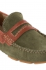 Green Leather Driving Shoes Online