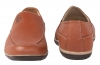 Mens Brown Leather Loafers