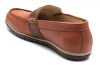 Brown Tan Leather Loafers