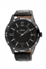 High Performance Black Leather Strap Watch Online
