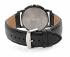 Black Genuine Leather Strap Wrist Watch for Men Online