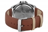 Tan Leather Strap Waterproof Watch for Men Online