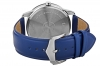 Blue Leather Strap Hand Watch with Day & Date Online