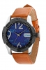 High Performance Analog Watch Tan Color Strap Online