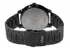 Black Metal Chain Analog Wrist Watch for Men