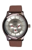 Maroon Leather Strap Multifunction Watch for Men Online