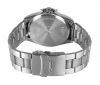 Stainless Steel Silver Chain Analog Watch with Day & Date Online