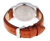Tan High Performance Leather Strap Watch for Men Online