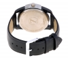 Black Color Leather Strap Analog Watch Online for Men Online