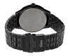 Black Metal Chain Mens Watch