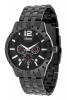 Buy Black Chain Multi Function Wrist Watch for Men Online