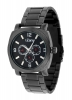 Black Chain Multi Function Wrist Watch for Men Online