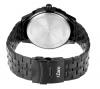 Order Black Chain Analog Watch Men
