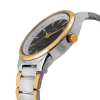 Silver Golden Metal Chain Mens Watch