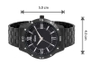Black Chain Mens Wrist Watch