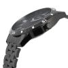 Black Chain Mens Wrist Watch