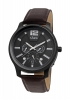 Brown Leather Strap Analog Multi Function Men's Watch Online