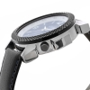 Black Leather Strap with Blue Dial Analog Watch Online